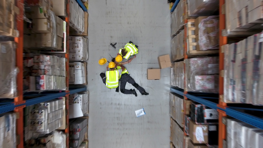 how to slips and falls in the workplace